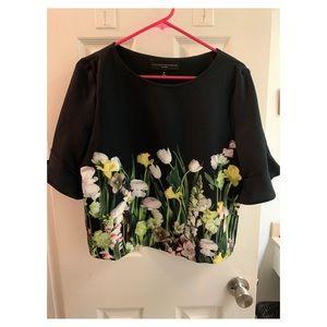 Floral Victoria Beckham for Target blouse. Size M.